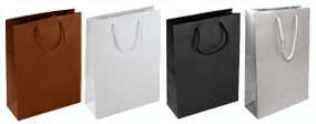 Medium Matt Laminated Rope Handle Paper Bags-25x34x10cm