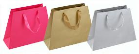 Beautiful Pyramid Paper Bags