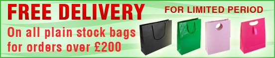 Free Delivery on Stock Bags