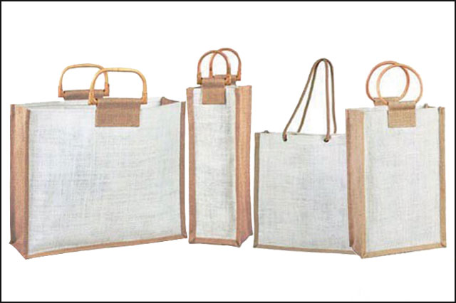 Eco Friendly Jute Carrier Bags