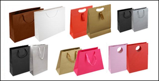 Matt Laminated Paper Carrier Bags