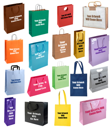 Personalised Custom Printed Gift Bags  sc 1 st  Shopping Bags Direct & Personalised Printed Gift Bags Affordable Custom Made Gift Bags
